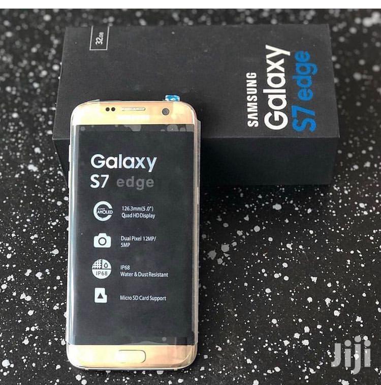 New Samsung Galaxy S7 edge 64 GB Gold | Mobile Phones for sale in Kinondoni, Dar es Salaam, Tanzania