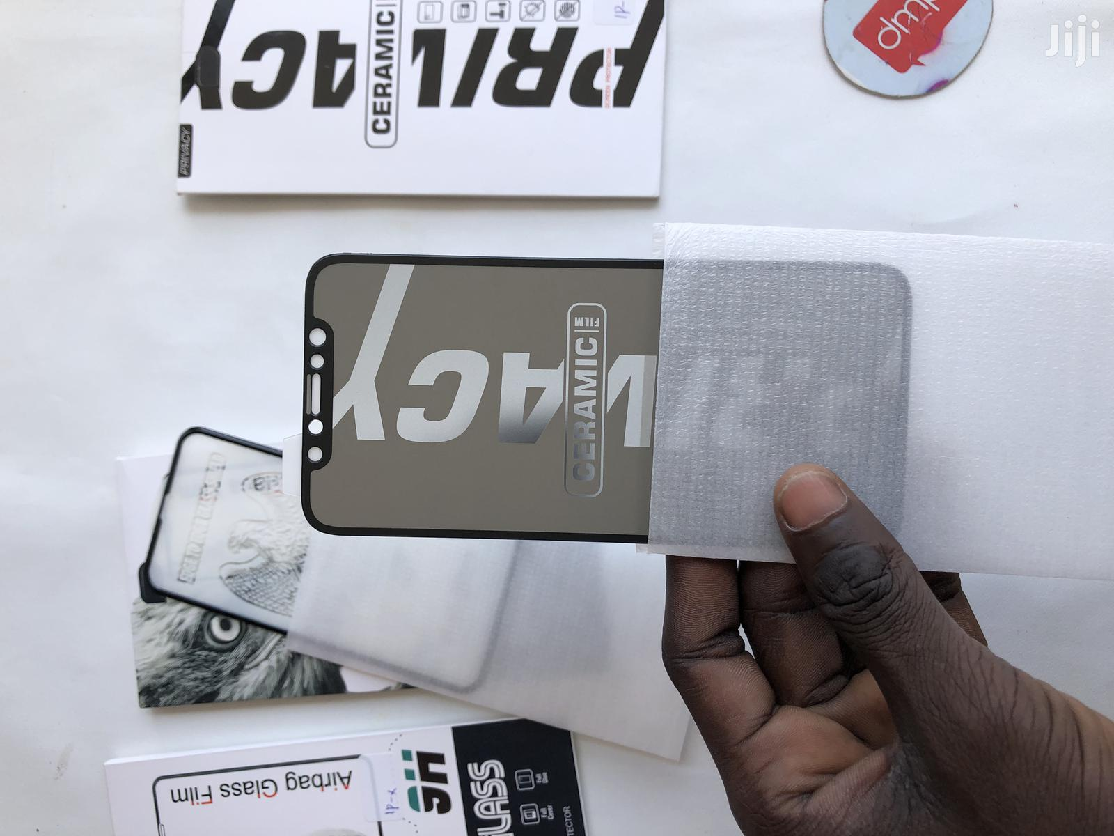 iPhone 12 Protectors ( Privacy ). | Accessories for Mobile Phones & Tablets for sale in Kinondoni, Dar es Salaam, Tanzania