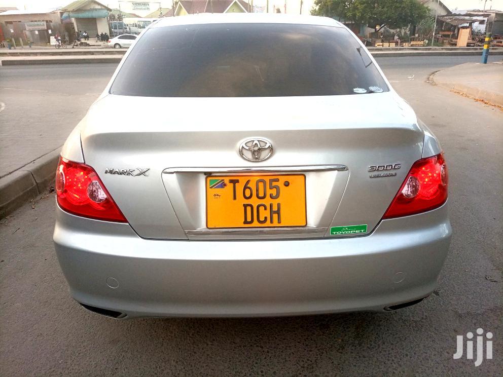 Toyota Mark X 2004 Silver | Cars for sale in Kinondoni, Dar es Salaam, Tanzania