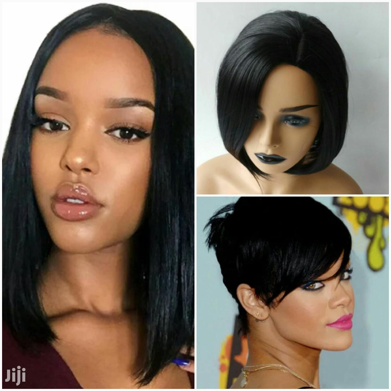 Archive: Wigs Kali Za Kike (Blond Hair)