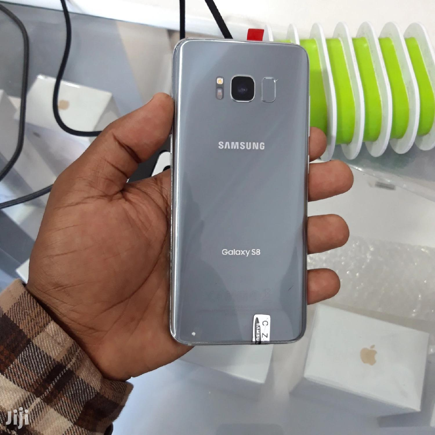 New Samsung Galaxy S8 64 GB Gray | Mobile Phones for sale in Ilala, Dar es Salaam, Tanzania