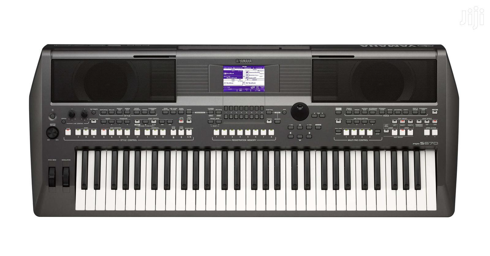 Archive: Yamaha Psr-670 Piano
