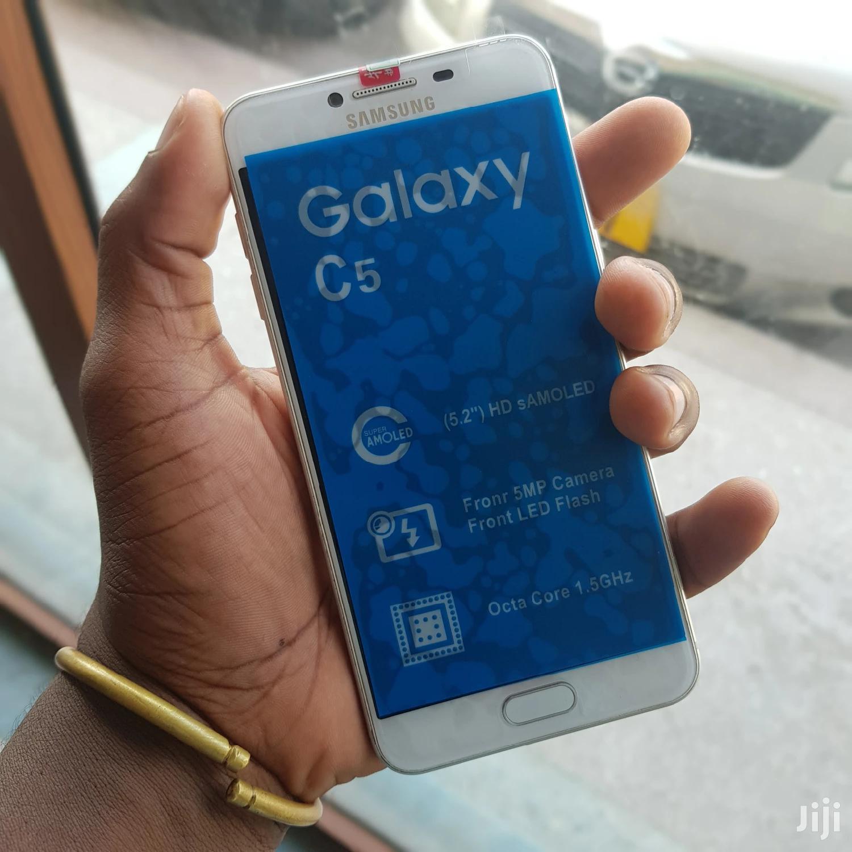 New Samsung Galaxy C5 32 GB Silver