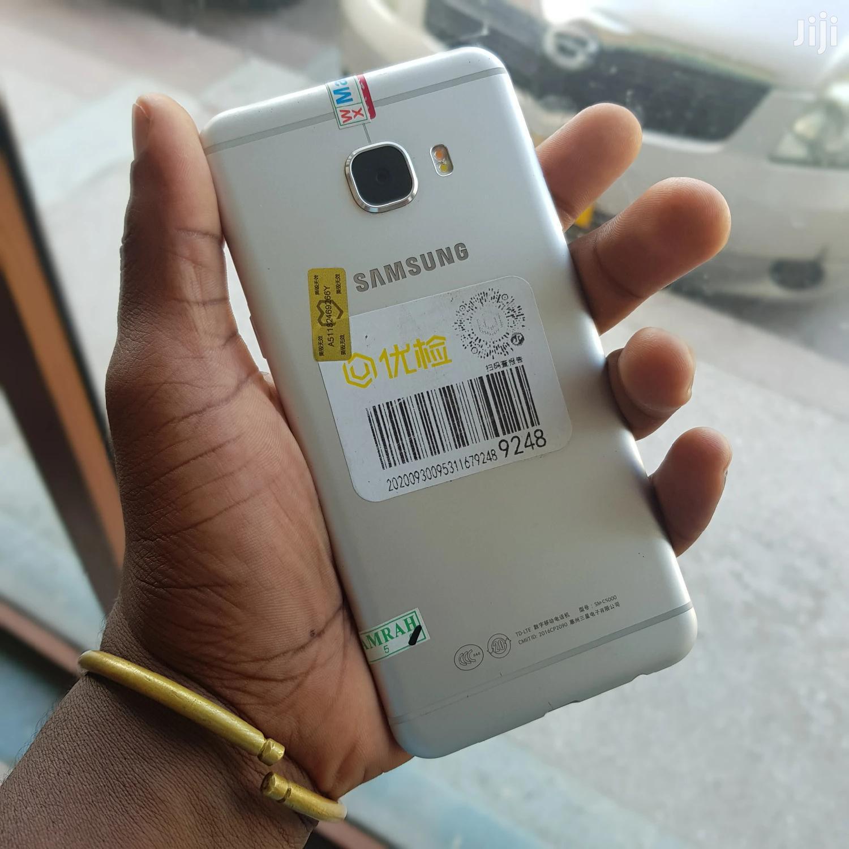 New Samsung Galaxy C5 32 GB Silver | Mobile Phones for sale in Ilala, Dar es Salaam, Tanzania