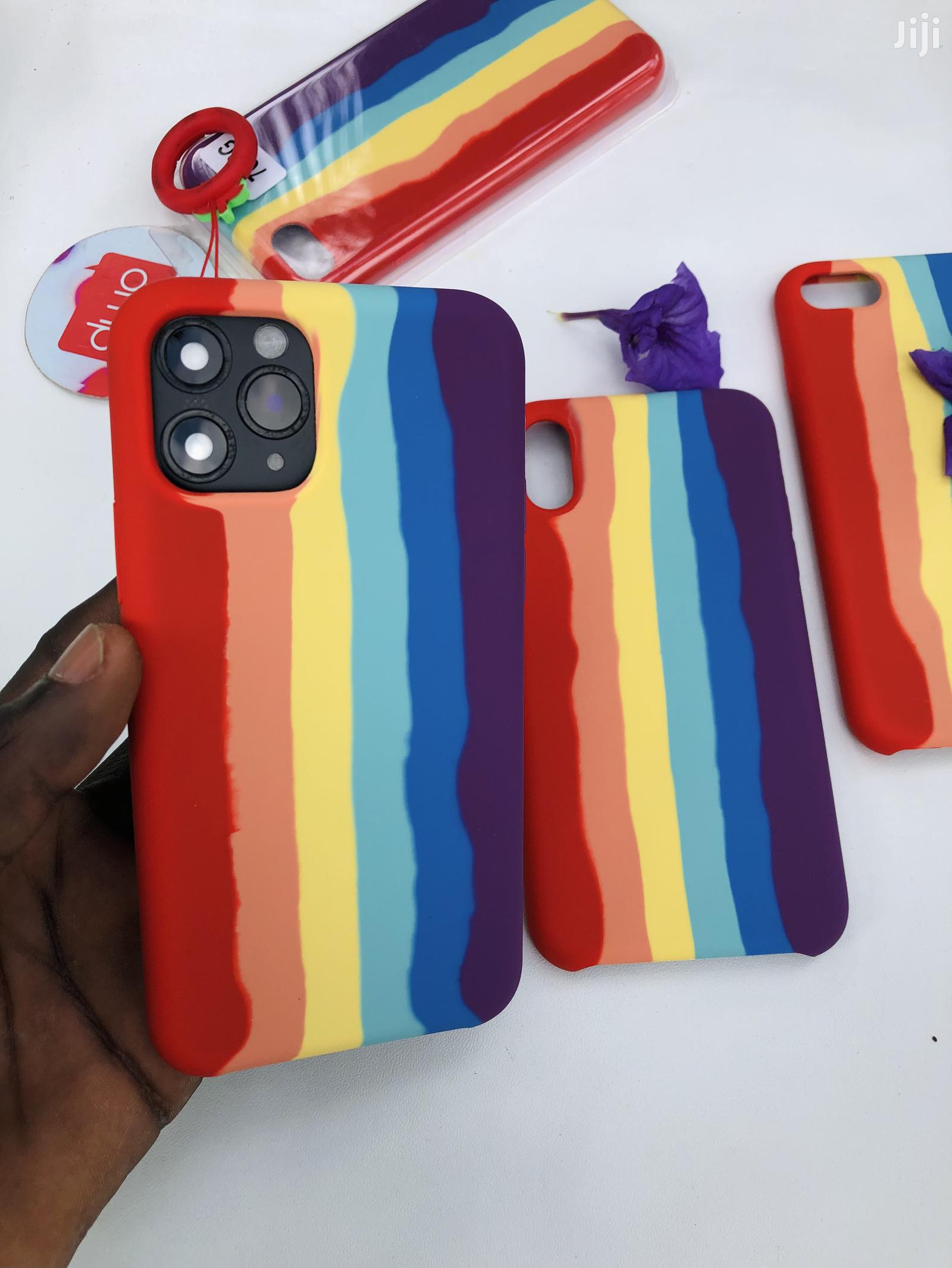 iPhone Rainbow Silicone Case
