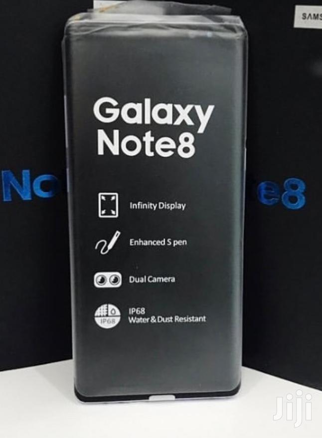 New Samsung Galaxy Note 8 256 GB Black | Mobile Phones for sale in Kinondoni, Dar es Salaam, Tanzania