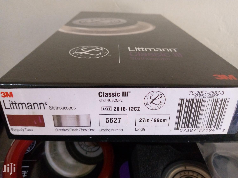 Archive: Littmann Classic III Stethoscopes.