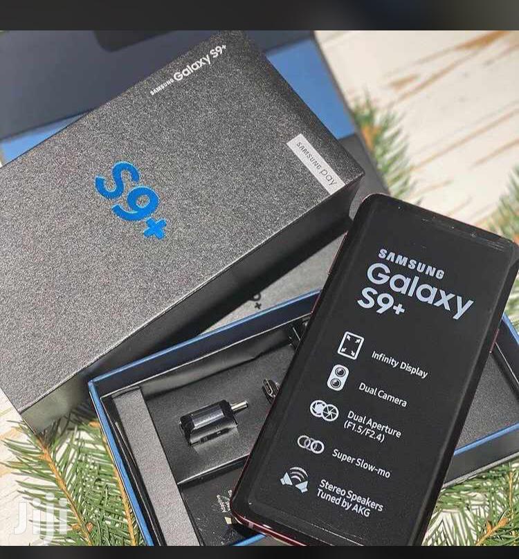 New Samsung Galaxy S9 Plus 64 GB Black