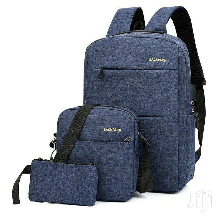 Archive: Backpack With 3 Pieces