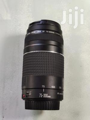 Canon EF 75-300mm F/4-5.6 III Telephoto Zoom Lens | Accessories & Supplies for Electronics for sale in Dar es Salaam, Kinondoni