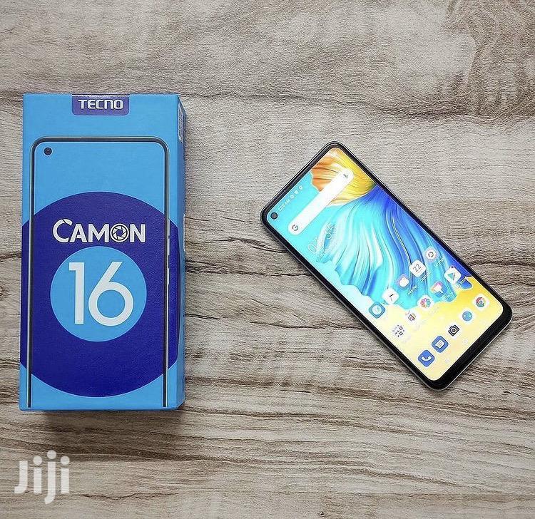 New Tecno Camon 16 64 GB | Mobile Phones for sale in Kinondoni, Dar es Salaam, Tanzania