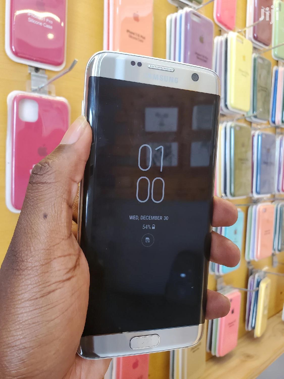 Samsung Galaxy S7 edge 32 GB Silver | Mobile Phones for sale in Kinondoni, Dar es Salaam, Tanzania