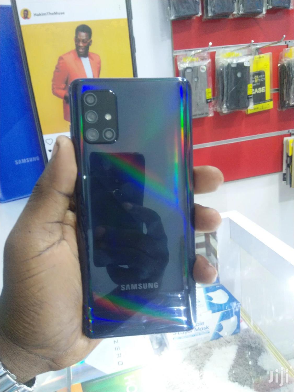 New Samsung Galaxy A71 128 GB Black   Mobile Phones for sale in Ilala, Dar es Salaam, Tanzania