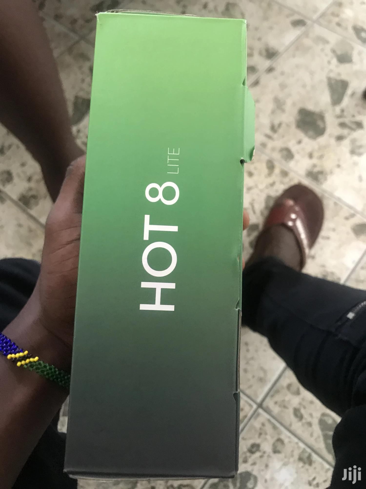 Infinix Hot 8 Lite 32 GB Black   Mobile Phones for sale in Ilala, Dar es Salaam, Tanzania