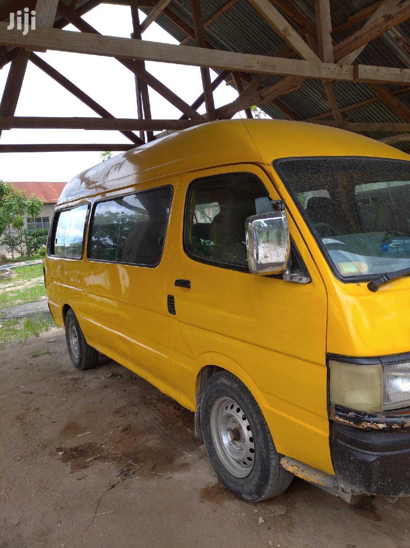 Toyota HMV 1998 Yellow For Sale | Buses & Microbuses for sale in Kinondoni, Dar es Salaam, Tanzania