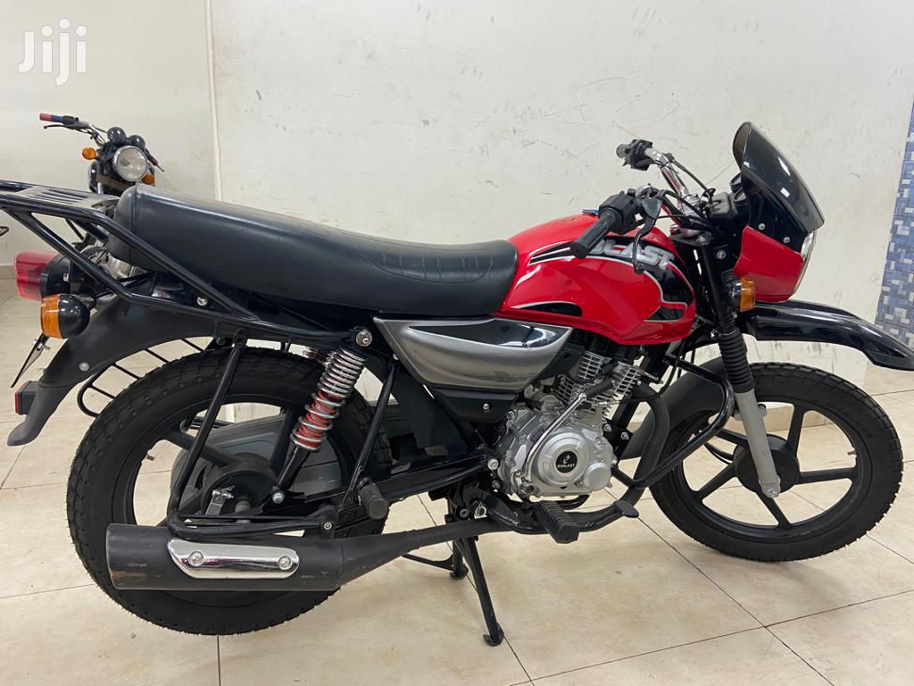 New Motorcycle 2020 Red