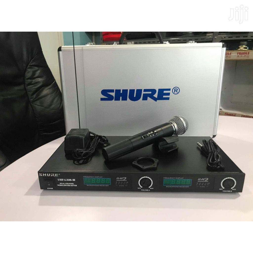 Archive: Shure Wireless Mic Lx 88 Iii