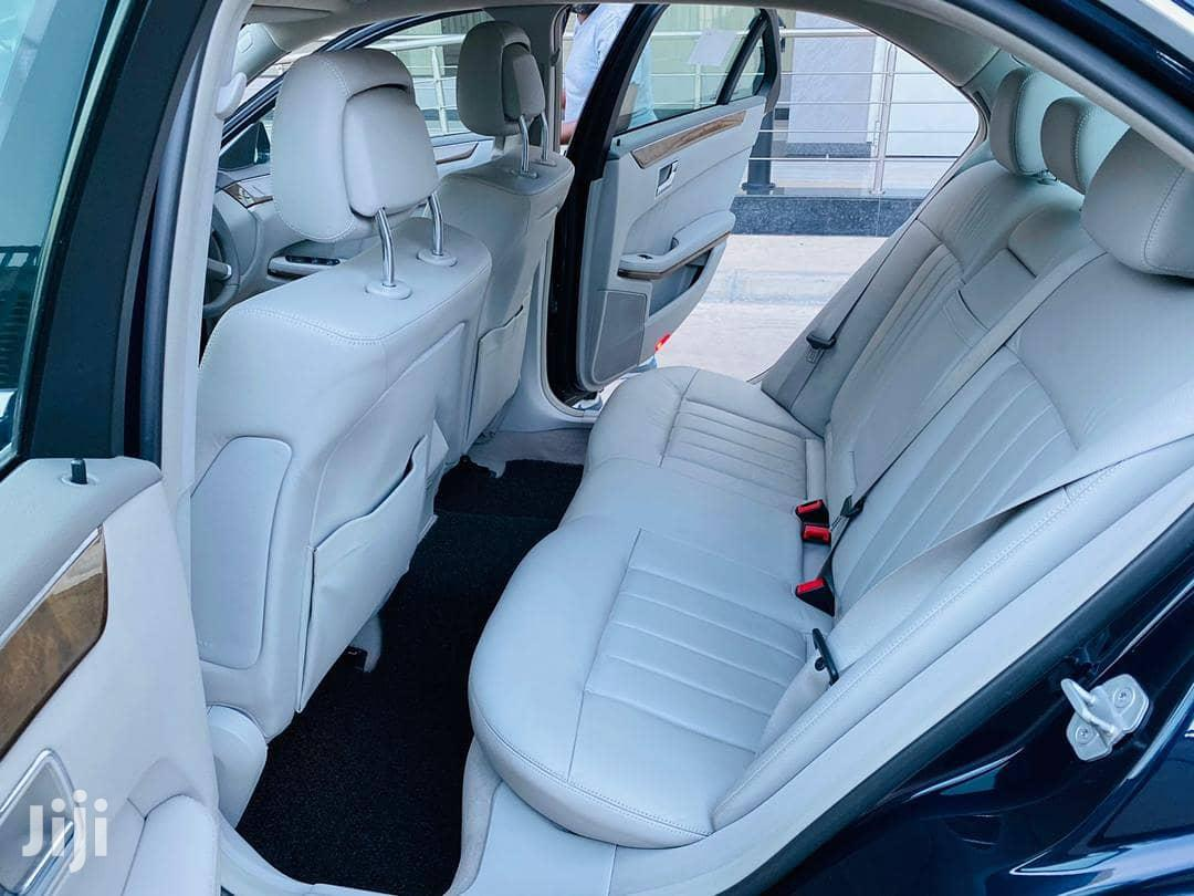 Archive: New Mercedes-Benz E200 2012 Black