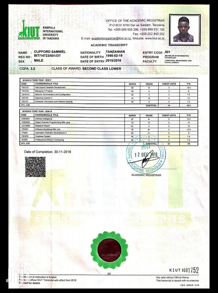 Fmcg Marketing Manager | Computing & IT CVs for sale in Kinondoni, Dar es Salaam, Tanzania