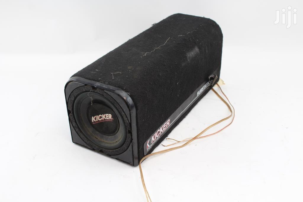 Archive: Kicker Ks60 Substation