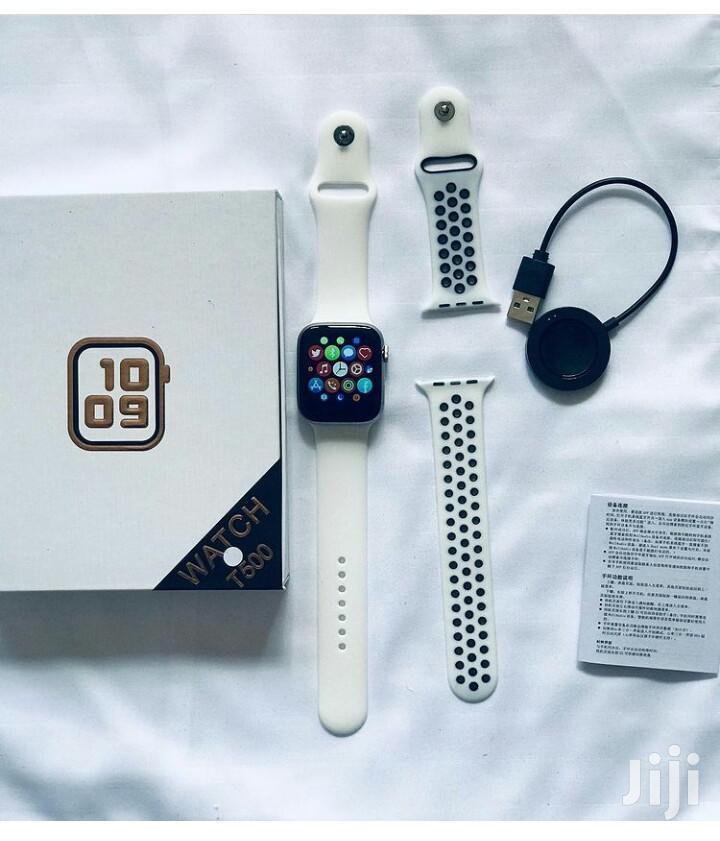 Smartwatch T500 | Smart Watches & Trackers for sale in Kinondoni, Dar es Salaam, Tanzania