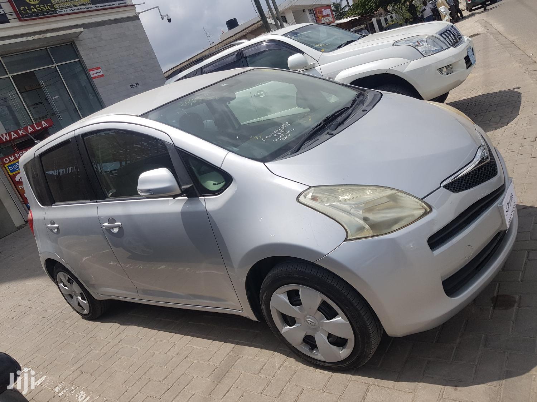 Toyota Ractis 2008 Silver   Cars for sale in Kinondoni, Dar es Salaam, Tanzania