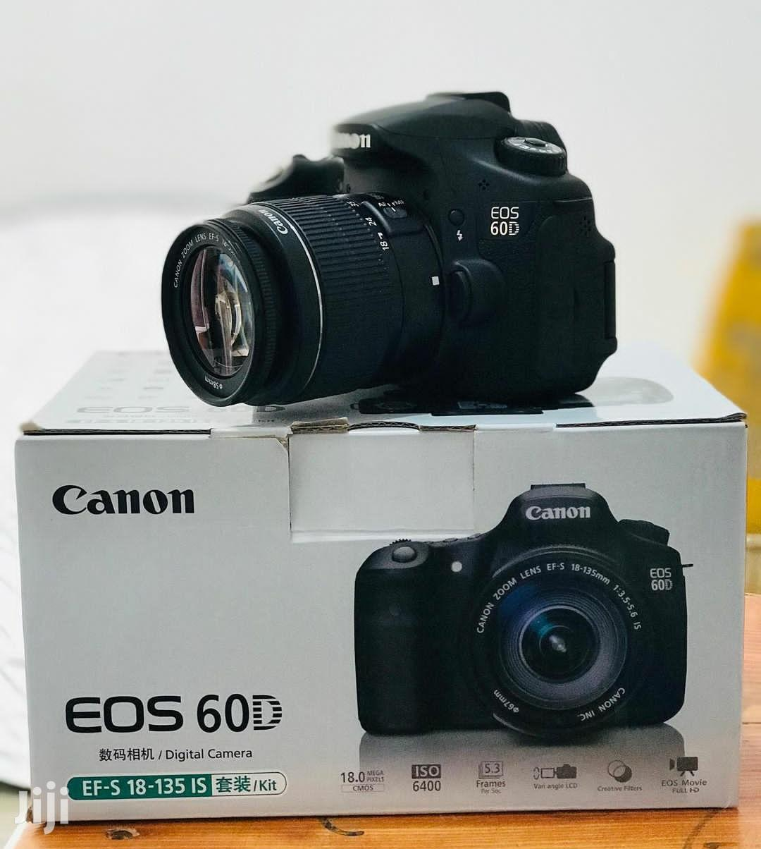 Canon 60D Camera With Free Lens 18~55 | Photo & Video Cameras for sale in Ilala, Dar es Salaam, Tanzania