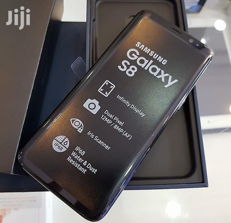 New Samsung Galaxy S8 64 GB Black | Mobile Phones for sale in Kinondoni, Dar es Salaam, Tanzania