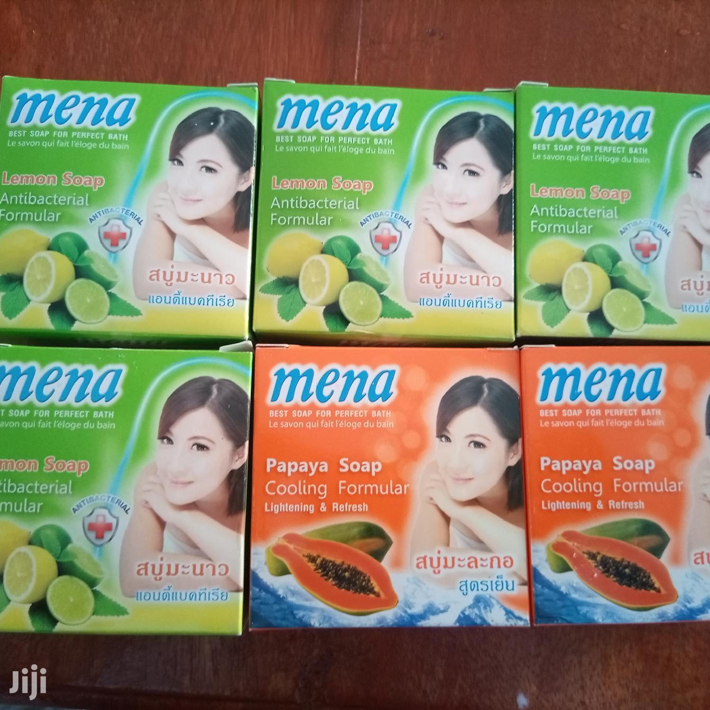 Mena( Lemon And Papaya ) Soap | Bath & Body for sale in Tanga City, Tanga Region, Tanzania