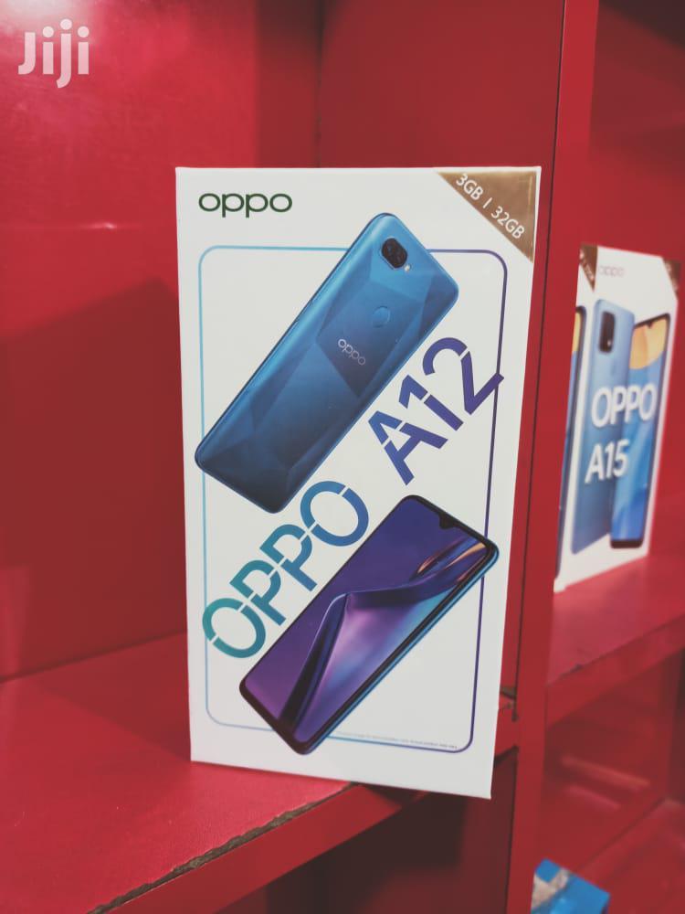 New Oppo A12 32 GB Black