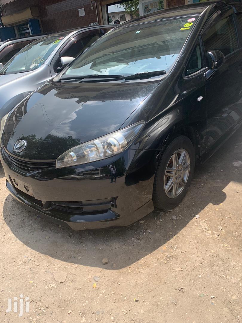 Toyota Wish 2010 Black   Cars for sale in Kinondoni, Dar es Salaam, Tanzania