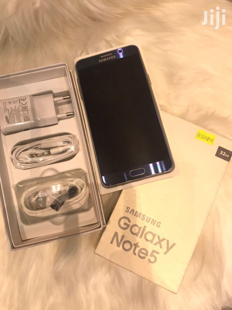 New Samsung Galaxy Note 5 32 GB Black
