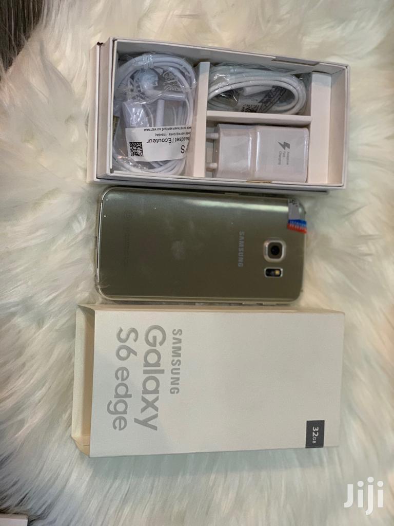 New Samsung Galaxy S6 Edge 32 GB Gold | Mobile Phones for sale in Kinondoni, Dar es Salaam, Tanzania