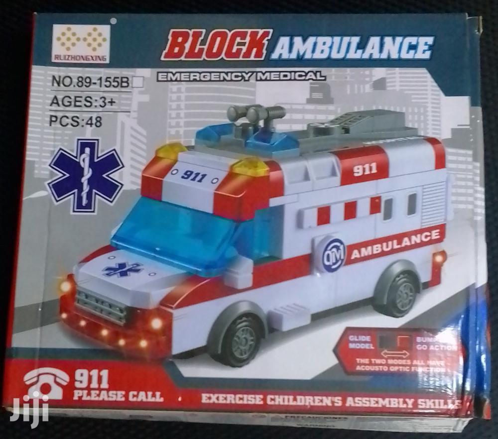 Toys! Block Ambulance Assembly
