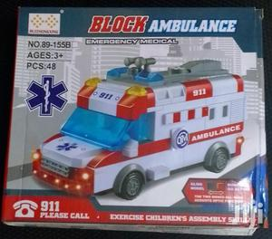 Toys! Block Ambulance Assembly | Toys for sale in Dar es Salaam, Kinondoni