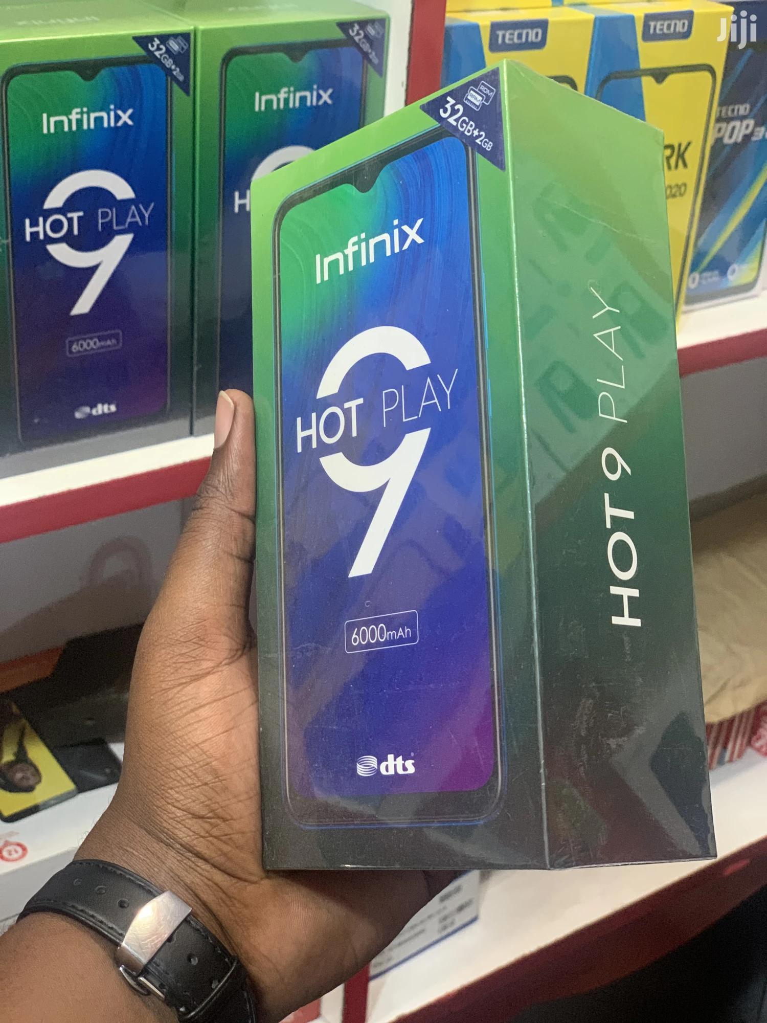New Infinix Hot 9 Play 32 GB Black | Mobile Phones for sale in Ilala, Dar es Salaam, Tanzania