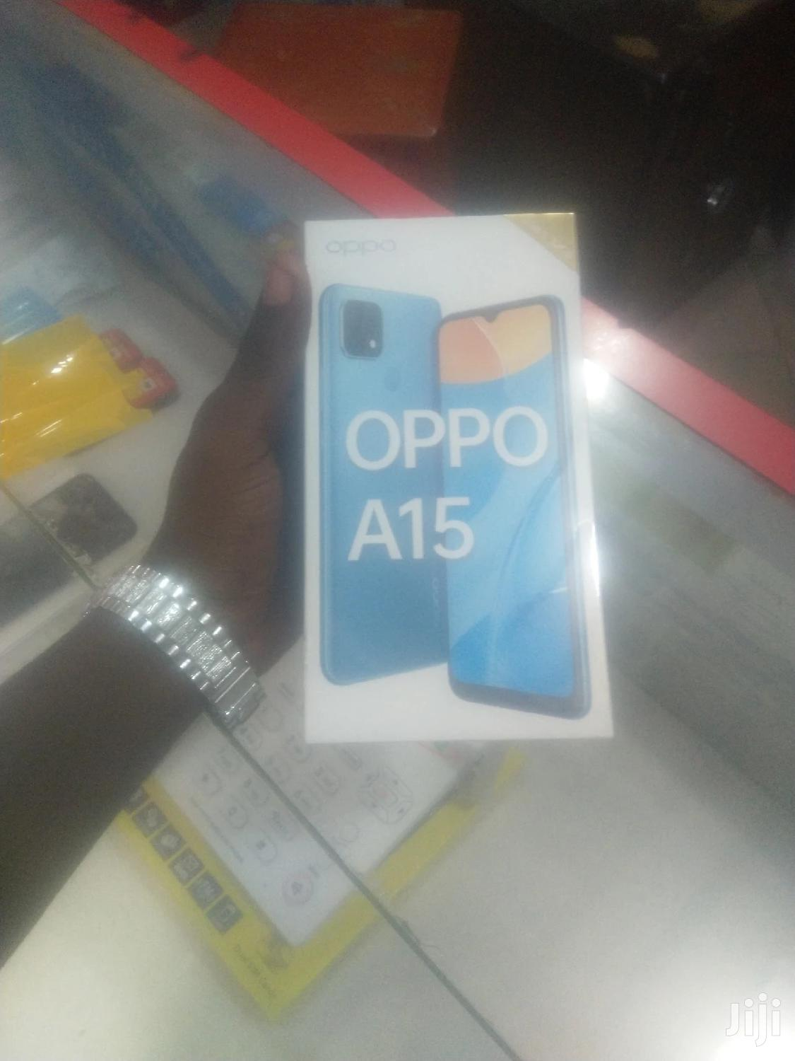 New Oppo A15 32GB Black | Mobile Phones for sale in Ilala, Dar es Salaam, Tanzania