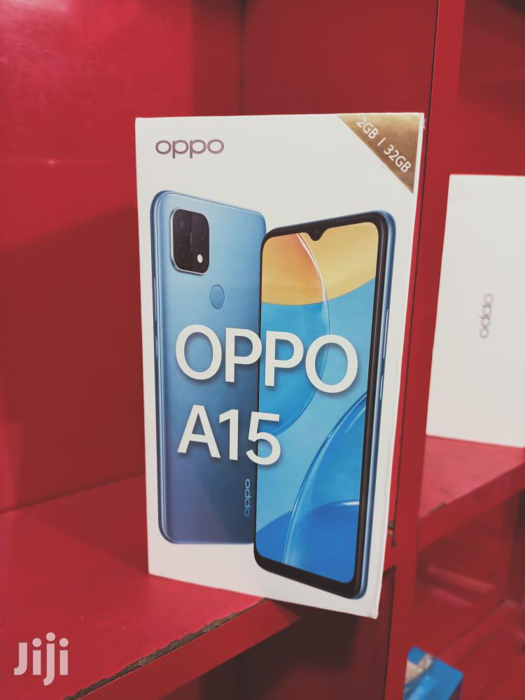 New Oppo A15 32GB Black