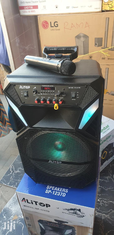 Rechargable Speaker All in One