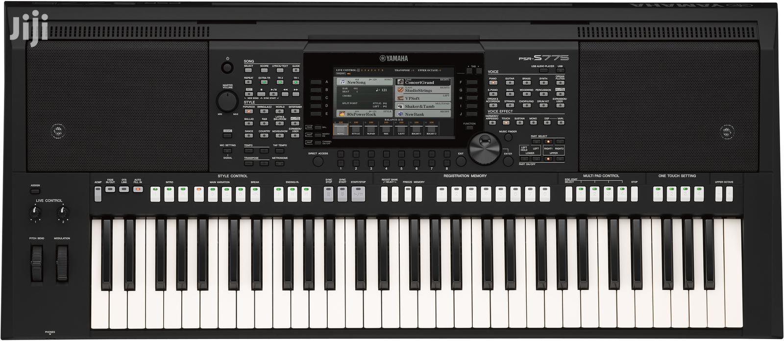 Archive: Psrs-s775 Yamaha