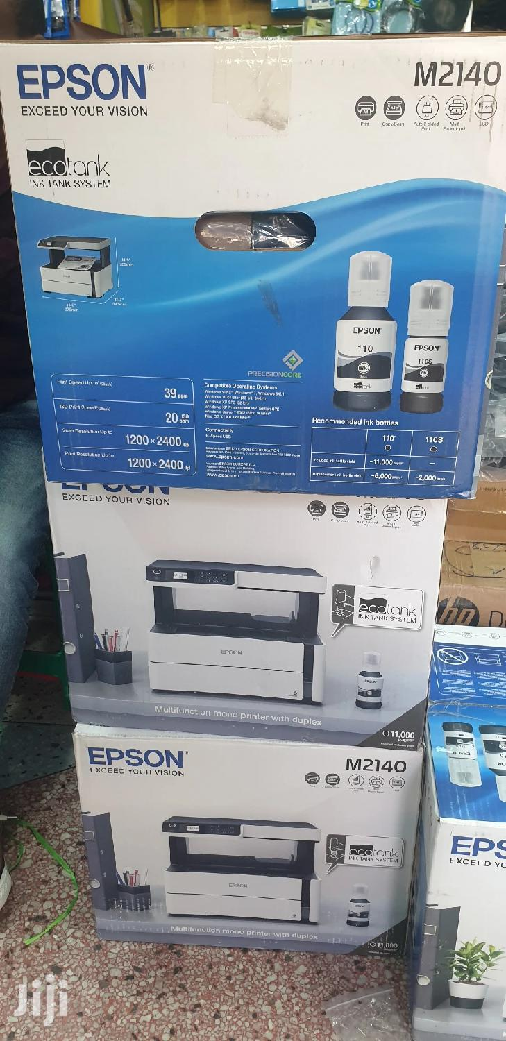 EPSON All in 1 Printer New M2140 | Printers & Scanners for sale in Ilala, Dar es Salaam, Tanzania