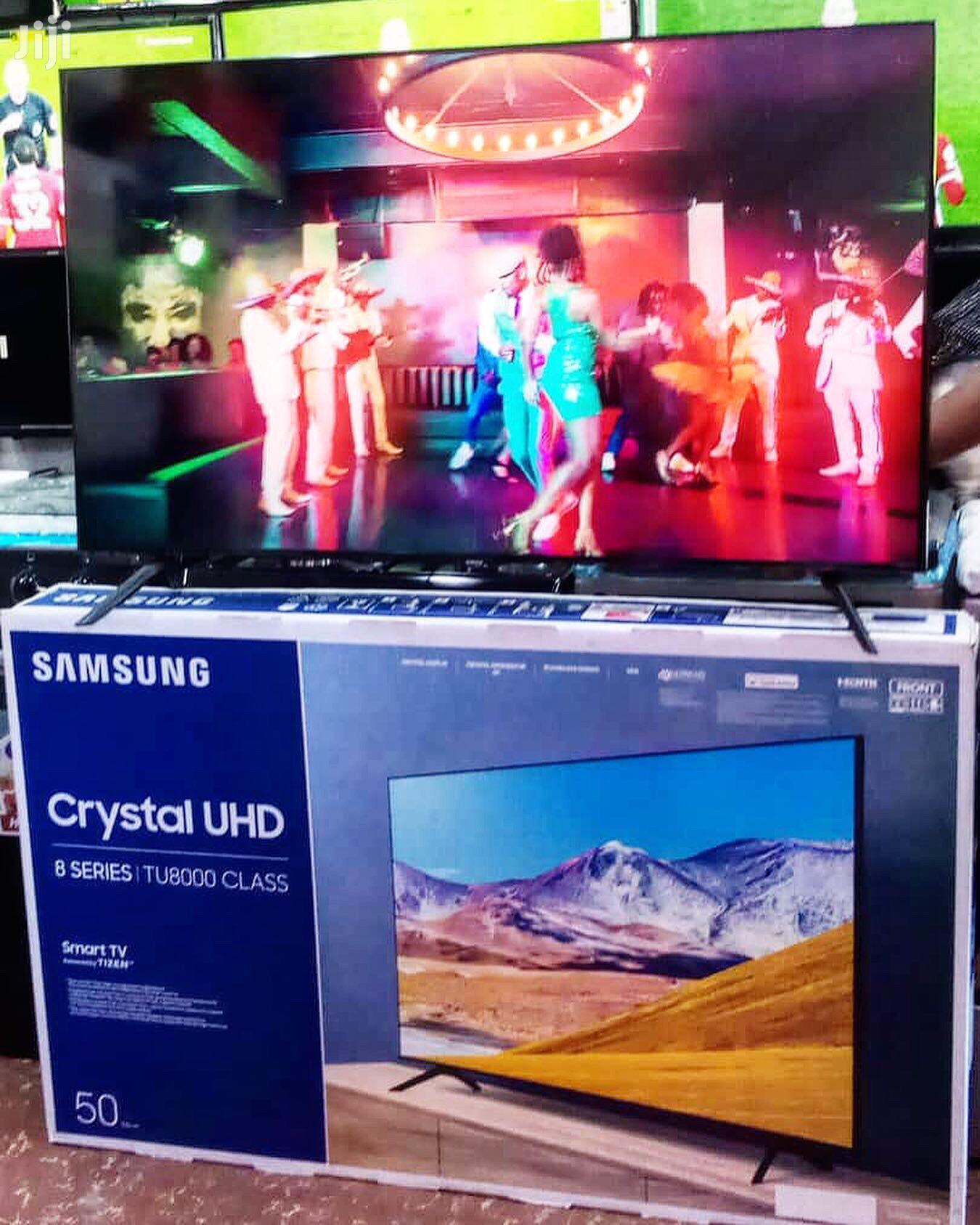"Samsung 50"" Crystal TV"