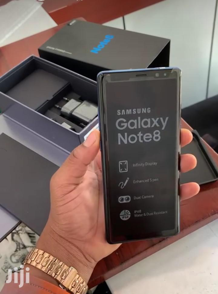 New Samsung Galaxy Note 8 64 GB Black   Mobile Phones for sale in Ilala, Dar es Salaam, Tanzania