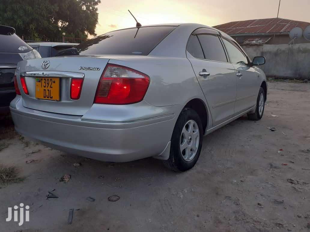 Toyota Premio 2002 Silver   Cars for sale in Kinondoni, Dar es Salaam, Tanzania