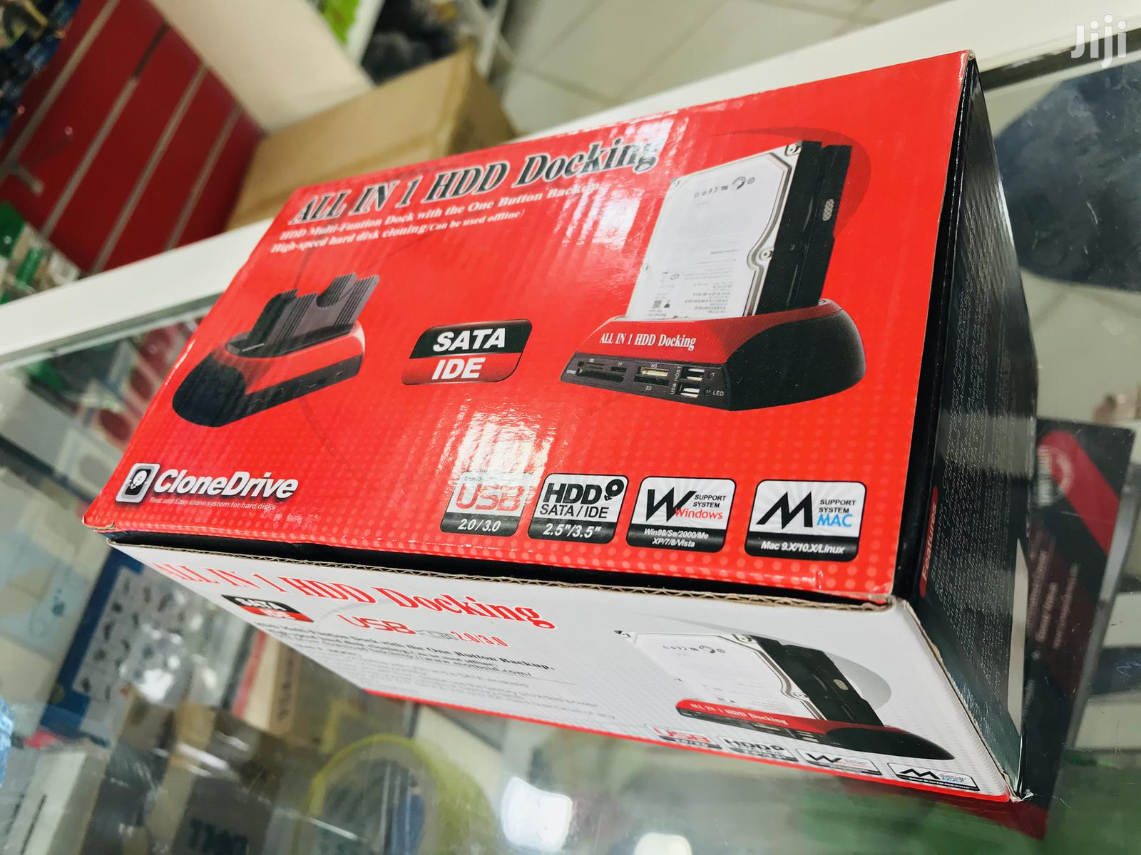 All In One Hdd Docking Station | Computer Accessories  for sale in Ilala, Dar es Salaam, Tanzania