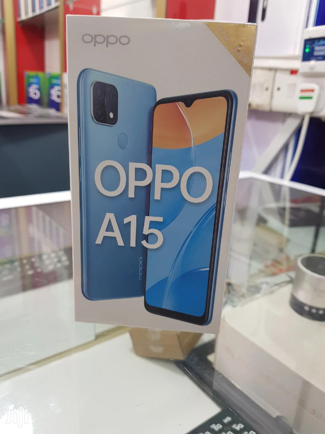 New Oppo A15 32GB Blue | Mobile Phones for sale in Ilala, Dar es Salaam, Tanzania