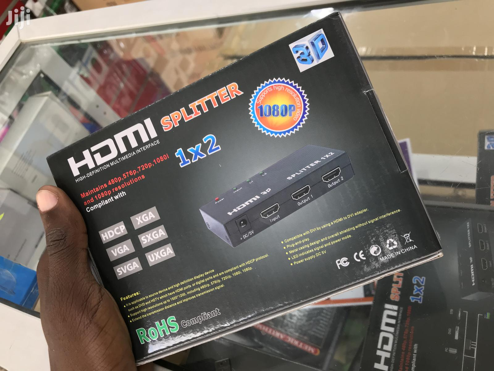 Hdmi Spiltter 1x2 | Computer Accessories  for sale in Ilala, Dar es Salaam, Tanzania