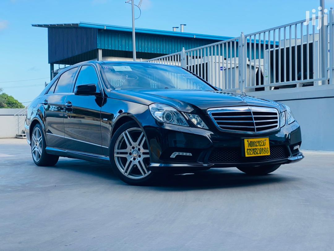 Archive: Mercedes-Benz E200 2010 Black