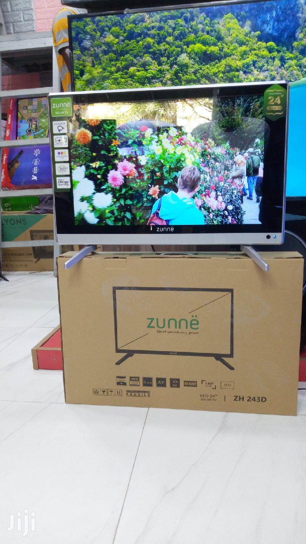 Zunhe LED TV Inch 24 | TV & DVD Equipment for sale in Ilala, Dar es Salaam, Tanzania