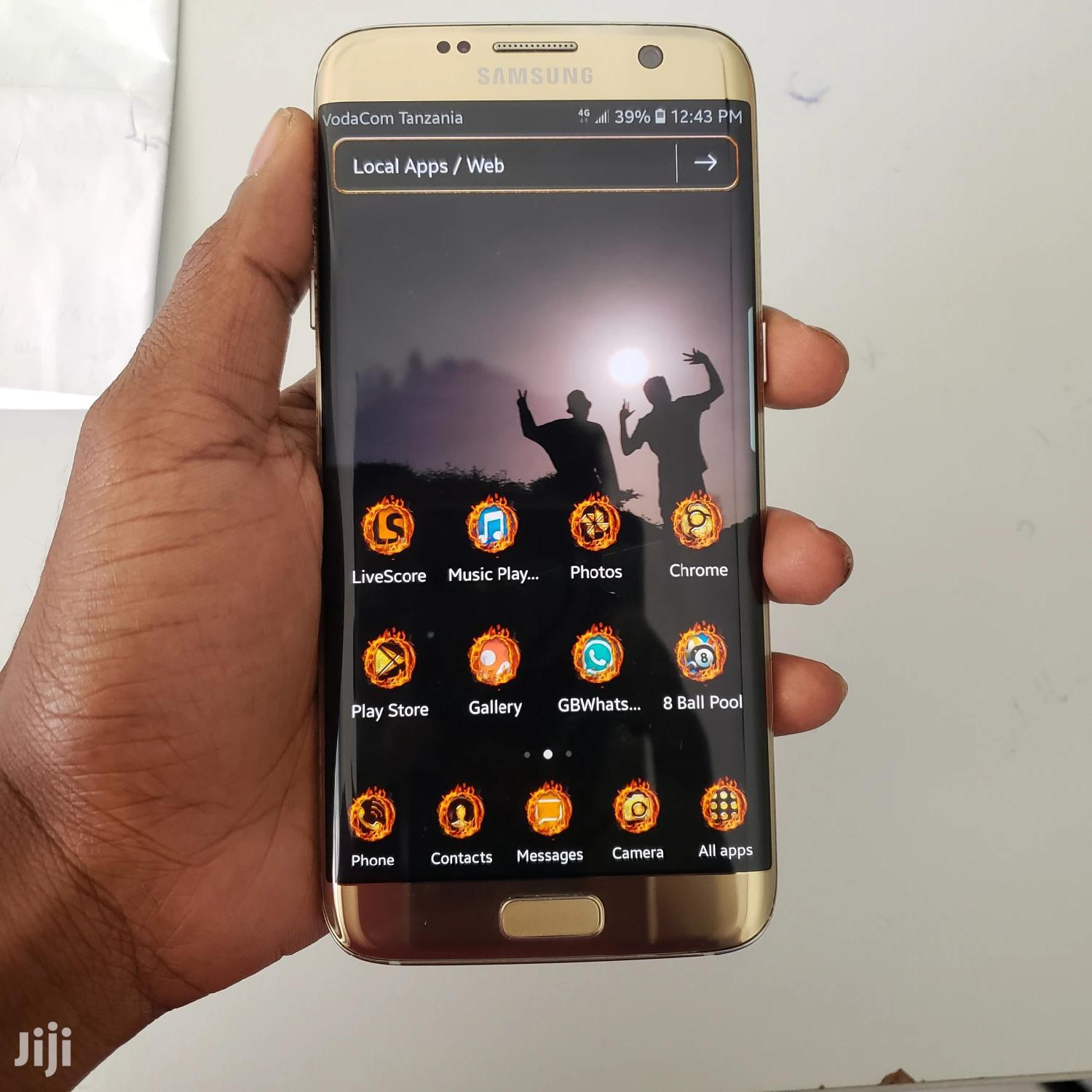 New Samsung Galaxy S7 edge 32 GB Gold | Mobile Phones for sale in Shinyanga Urban, Shinyanga Region, Tanzania